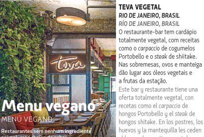 Menu Vegano – tendências LATAM
