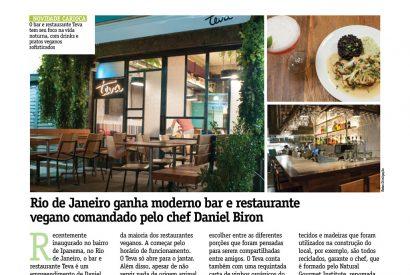 Rio de Janeiro ganha moderno bar e restaurante vegano