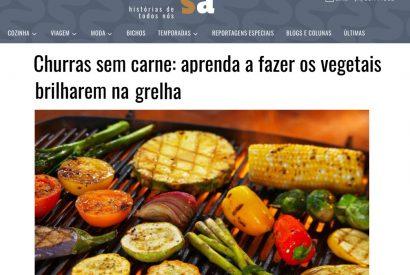 Churras sem carne: aprenda a fazer os vegetais brilharem na grelha
